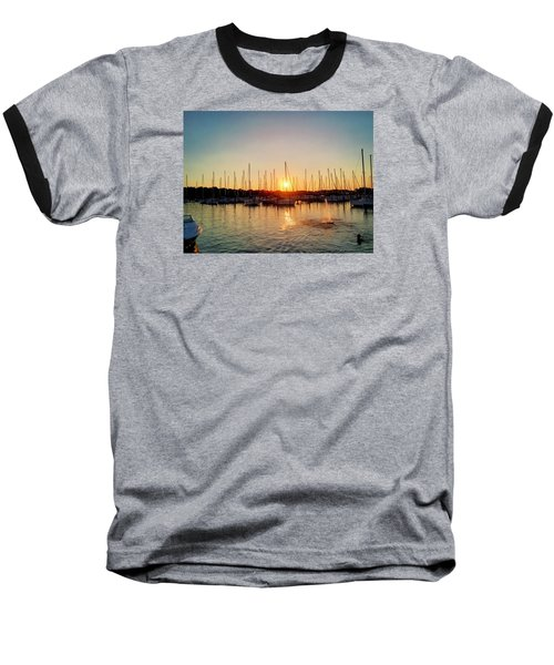 Sunset Cove 2015 Baseball T-Shirt