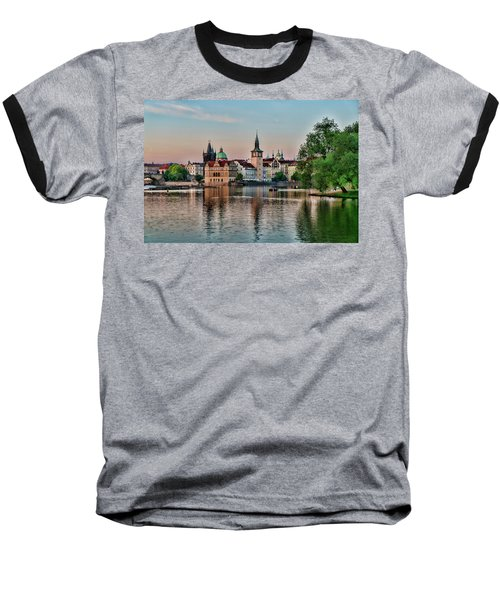 Sunset Cruise Prague Baseball T-Shirt