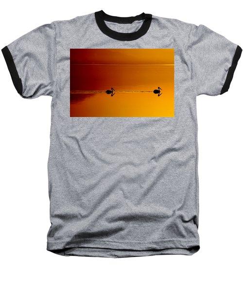 Sunset Cruising Baseball T-Shirt