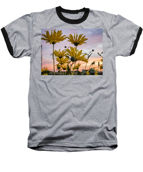 Sunset Delight Baseball T-Shirt