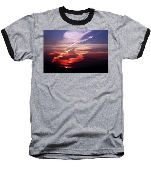 Sunset Dance Baseball T-Shirt by Aidan Moran