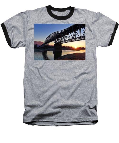 Fraser River, Bc  Baseball T-Shirt
