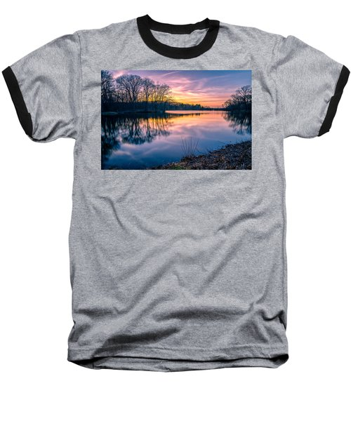 Sunset-dorothy Pond Baseball T-Shirt