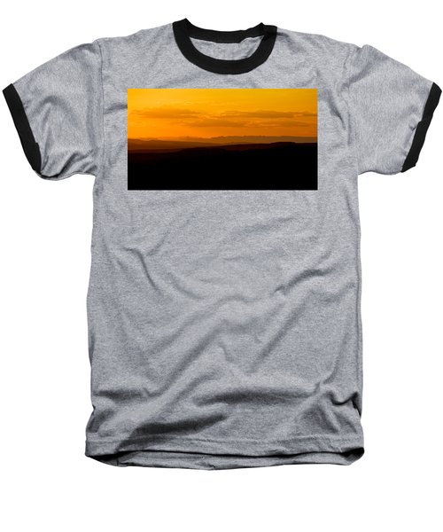 Baseball T-Shirt featuring the photograph Sunset by Evgeny Vasenev