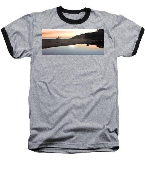 Sunset Family Baseball T-Shirt