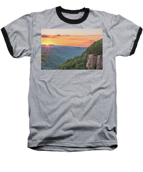 Sunset Flare Baseball T-Shirt