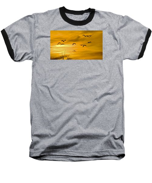 Sunset Fliers Baseball T-Shirt