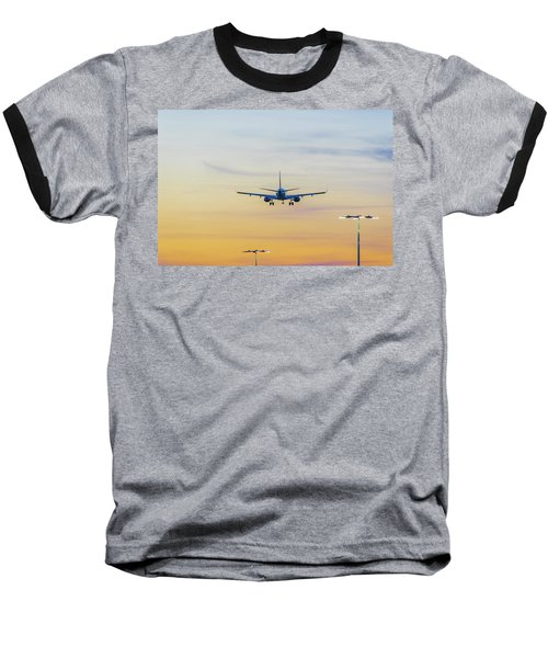 Sunset Flight Baseball T-Shirt
