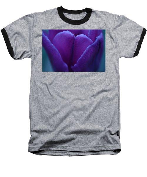 Sunset Flower Baseball T-Shirt