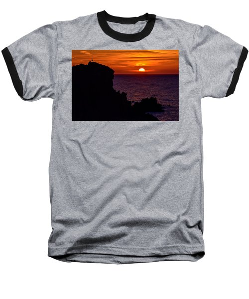 Sunset From Costa Paradiso Baseball T-Shirt
