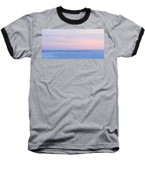 Sunset From Irish Beach Baseball T-Shirt