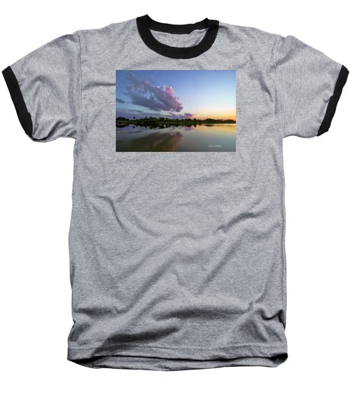 Sunset Glow Baseball T-Shirt by Don Durfee