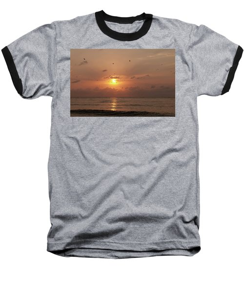 Sunset Florida Baseball T-Shirt