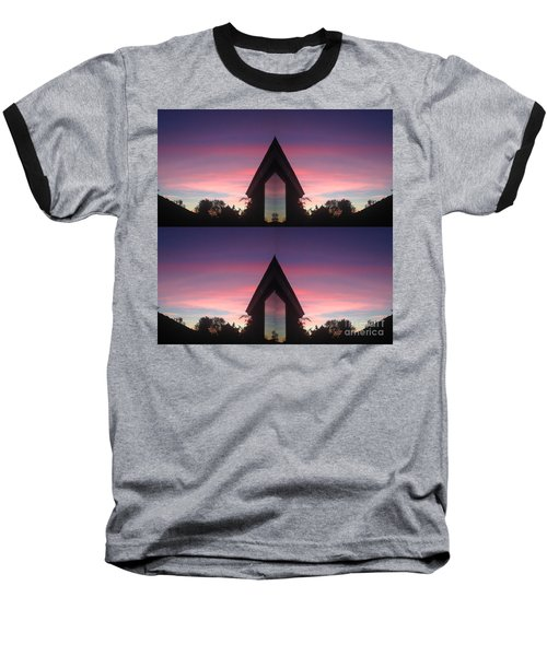 Baseball T-Shirt featuring the photograph Sunset Hues And Views by Nora Boghossian