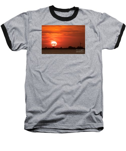 Sunset Husum Baseball T-Shirt