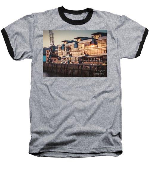 Sunset In Altona Hamburg Baseball T-Shirt