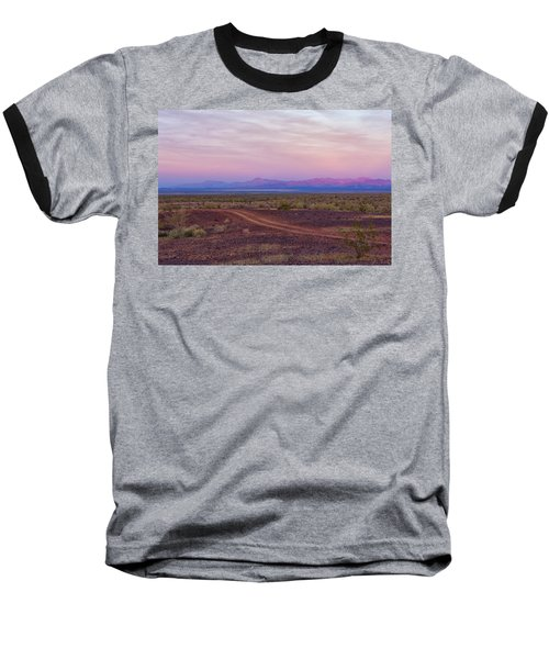 Sunset In Bouse Baseball T-Shirt