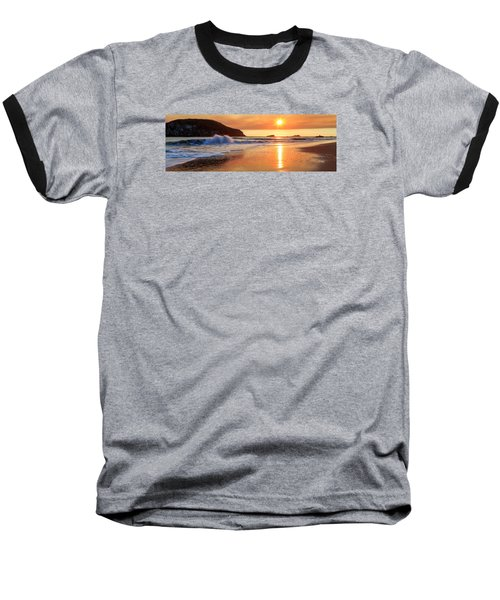 Baseball T-Shirt featuring the photograph Sunset In Brookings by James Eddy