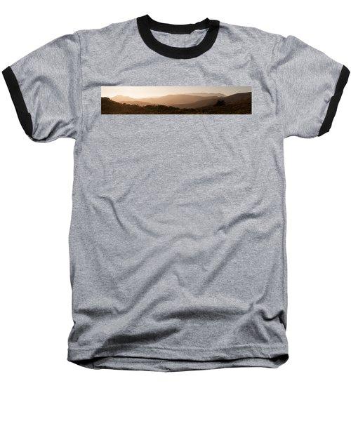 Sunset In California Baseball T-Shirt