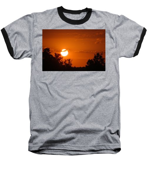 Baseball T-Shirt featuring the photograph Sunset In Charleston by Donna Bentley