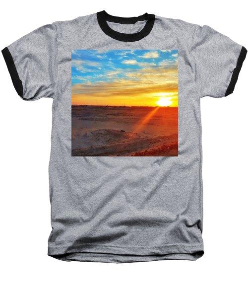 Sunset In Egypt Baseball T-Shirt