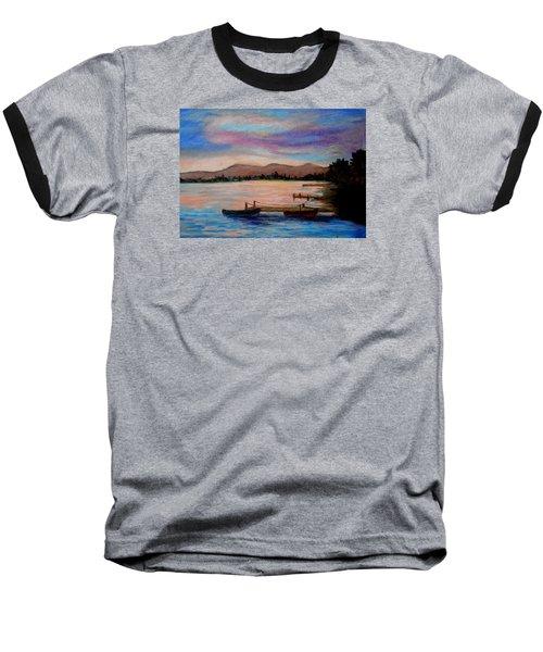 Sunset In Evia Baseball T-Shirt