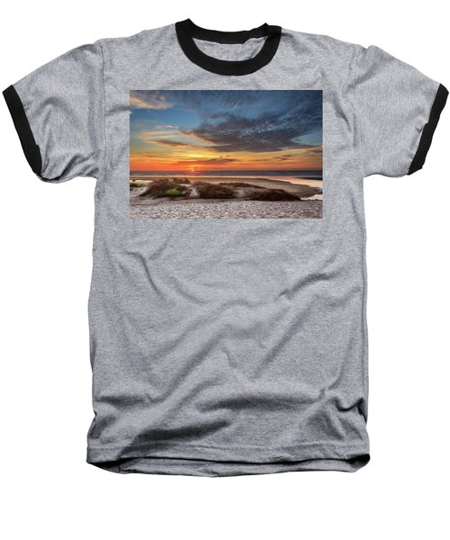 Baseball T-Shirt featuring the photograph Sunset In Florence by James Eddy