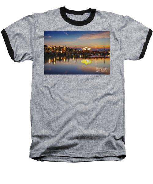 Sunset In Hoi An Vietnam Southeast Asia Baseball T-Shirt