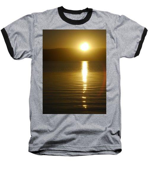 Sunset In January Baseball T-Shirt