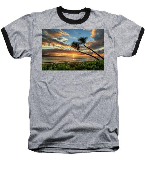 Sunset In Kaanapali Baseball T-Shirt