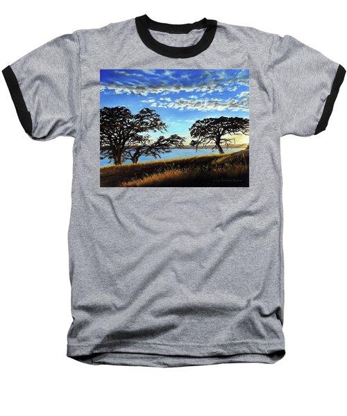 Sunset In Lucerne Baseball T-Shirt by Linda Becker