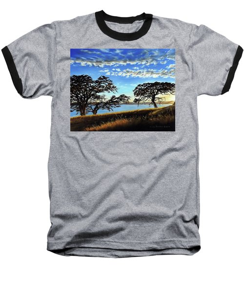Sunset In Lucerne Baseball T-Shirt