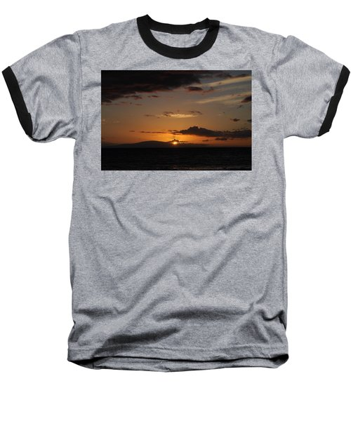 Sunset In Maui 2 Baseball T-Shirt by Michael Albright