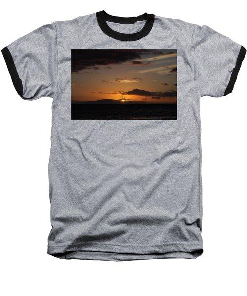 Sunset In Maui 2 Baseball T-Shirt