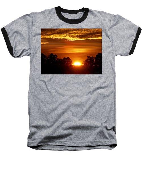 Sunset In Sonoma County Baseball T-Shirt