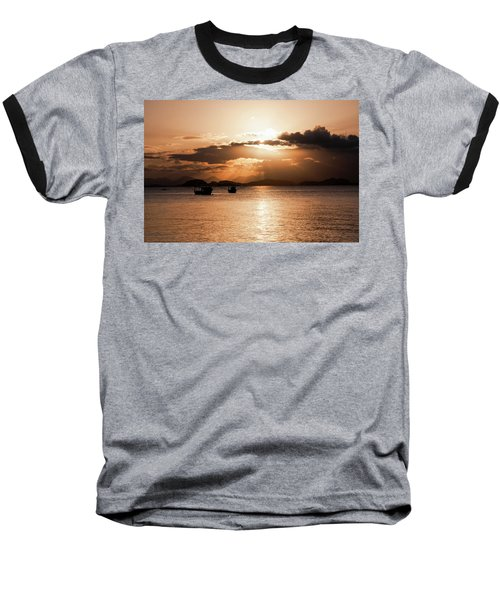 Sunset In Southern Brazil Baseball T-Shirt