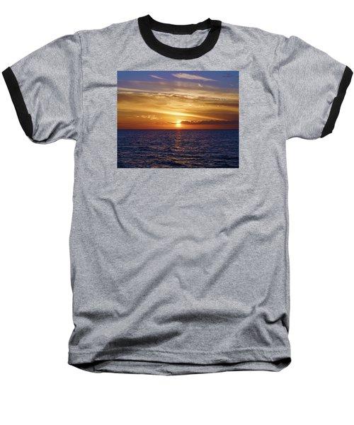 Sunset In Sw Florida Baseball T-Shirt