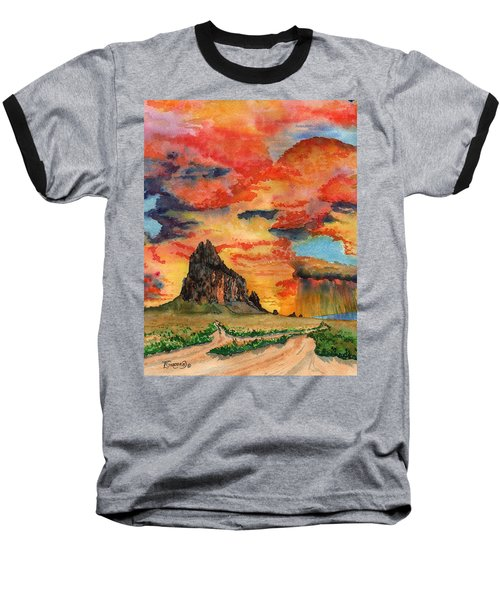Sunset In The West Baseball T-Shirt