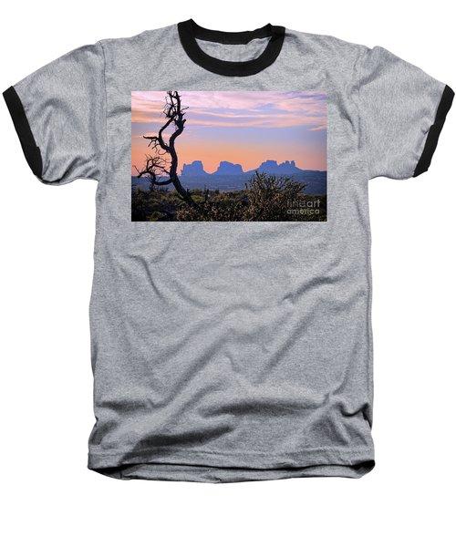 Sunset In Utah Baseball T-Shirt