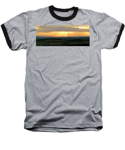 Sunset In Vogelsberg Baseball T-Shirt