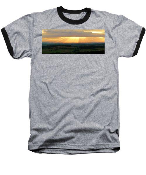 Sunset In Vogelsberg Baseball T-Shirt