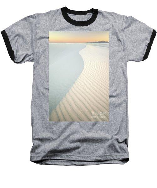 Sunset In White Sands Baseball T-Shirt