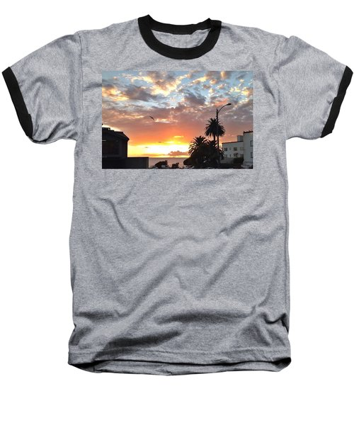 Sunset Laguna Oct 2015 Baseball T-Shirt