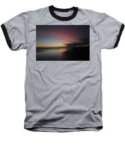 Sunset Las Lajas Baseball T-Shirt