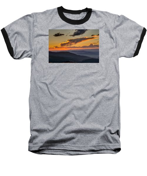Baseball T-Shirt featuring the photograph Sunset Layers by David R Robinson