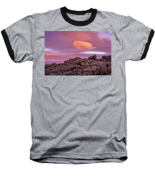 Sunset Lenticular Baseball T-Shirt