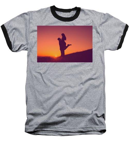 Sunset Love Baseball T-Shirt
