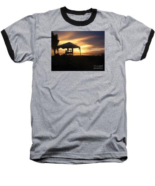 Sunset Massage Baseball T-Shirt