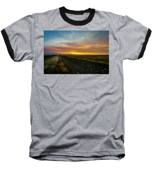California Sunset Baseball T-Shirt