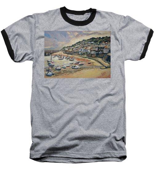 Sunset Mousehole Baseball T-Shirt